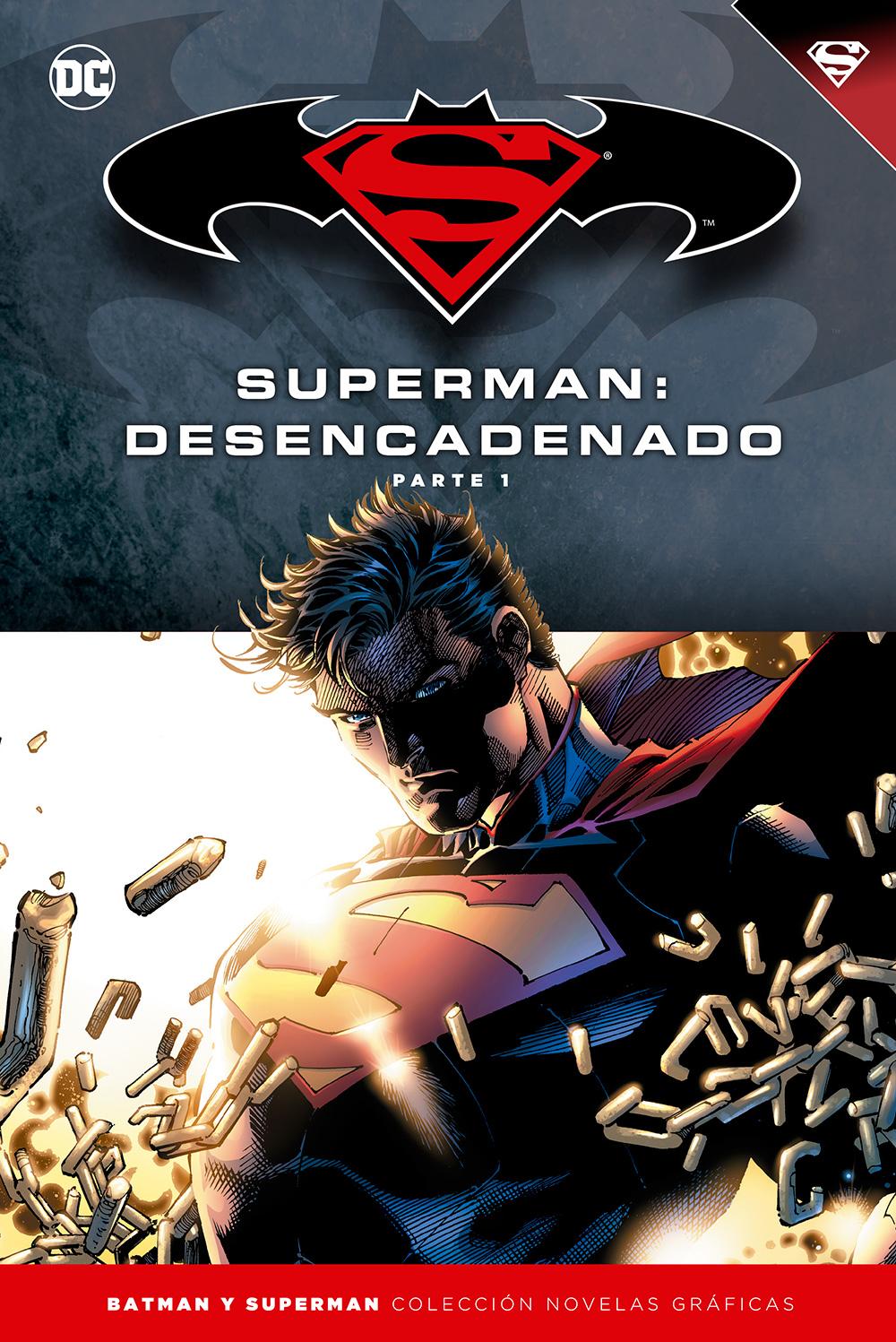 [DC - Salvat] Batman y Superman: Colección Novelas Gráficas - Página 6 Portada_BMSM_14_Superman_Desencadenado_1