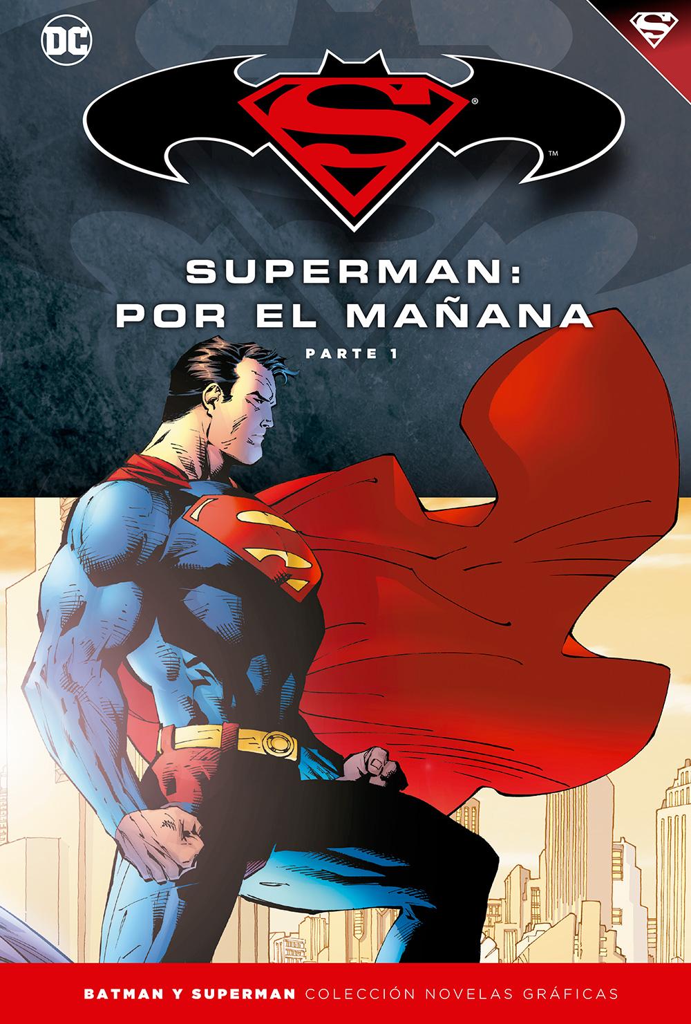 [DC - Salvat] Batman y Superman: Colección Novelas Gráficas - Página 5 Portada_BMSM_11_superman_man%CC%83ana
