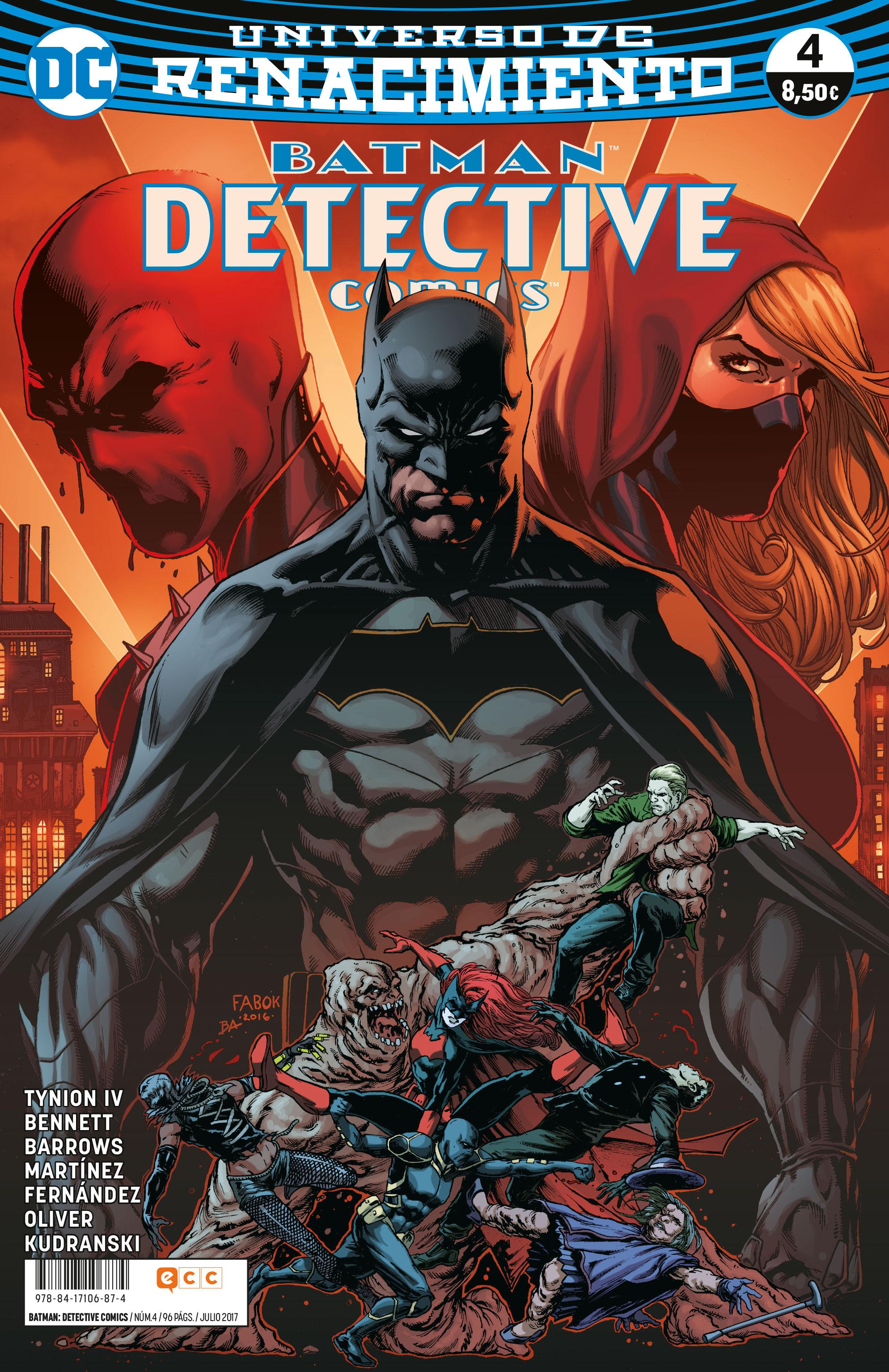 BATMAN: DETECTIVE COMICS NÚM. 04 (RENACIMIENT...