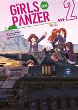 Girls und Panzer num. 02 (de 4)