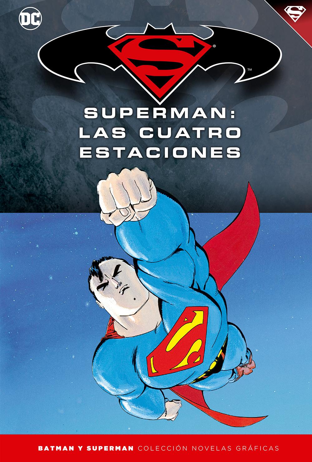 [DC - Salvat] Batman y Superman: Colección Novelas Gráficas - Página 9 Portada_BMSM_17_Superman_las_cuatro-estaciones