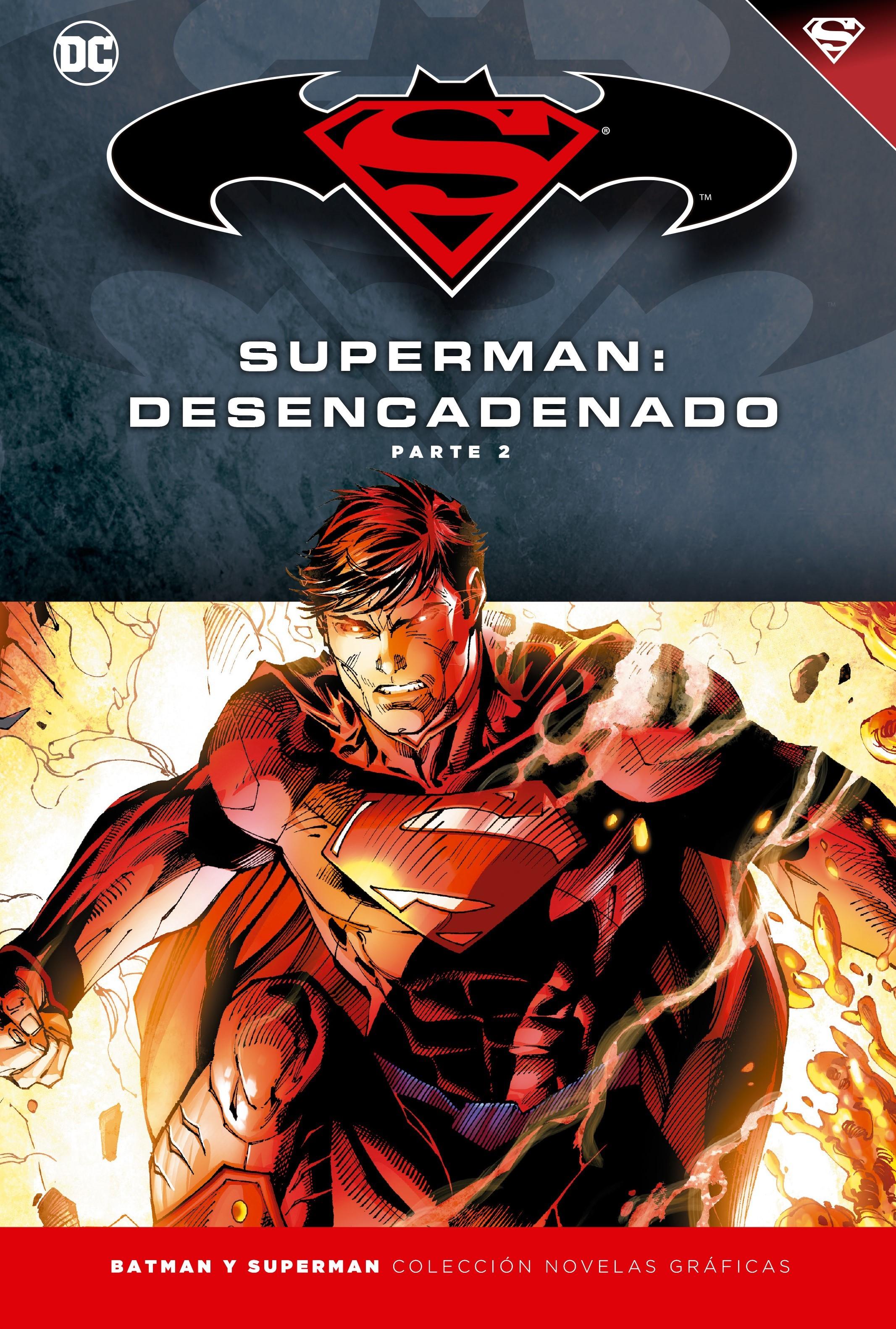 [DC - Salvat] Batman y Superman: Colección Novelas Gráficas - Página 6 Portada_BMSM_15_Superman_Desencadenado_2