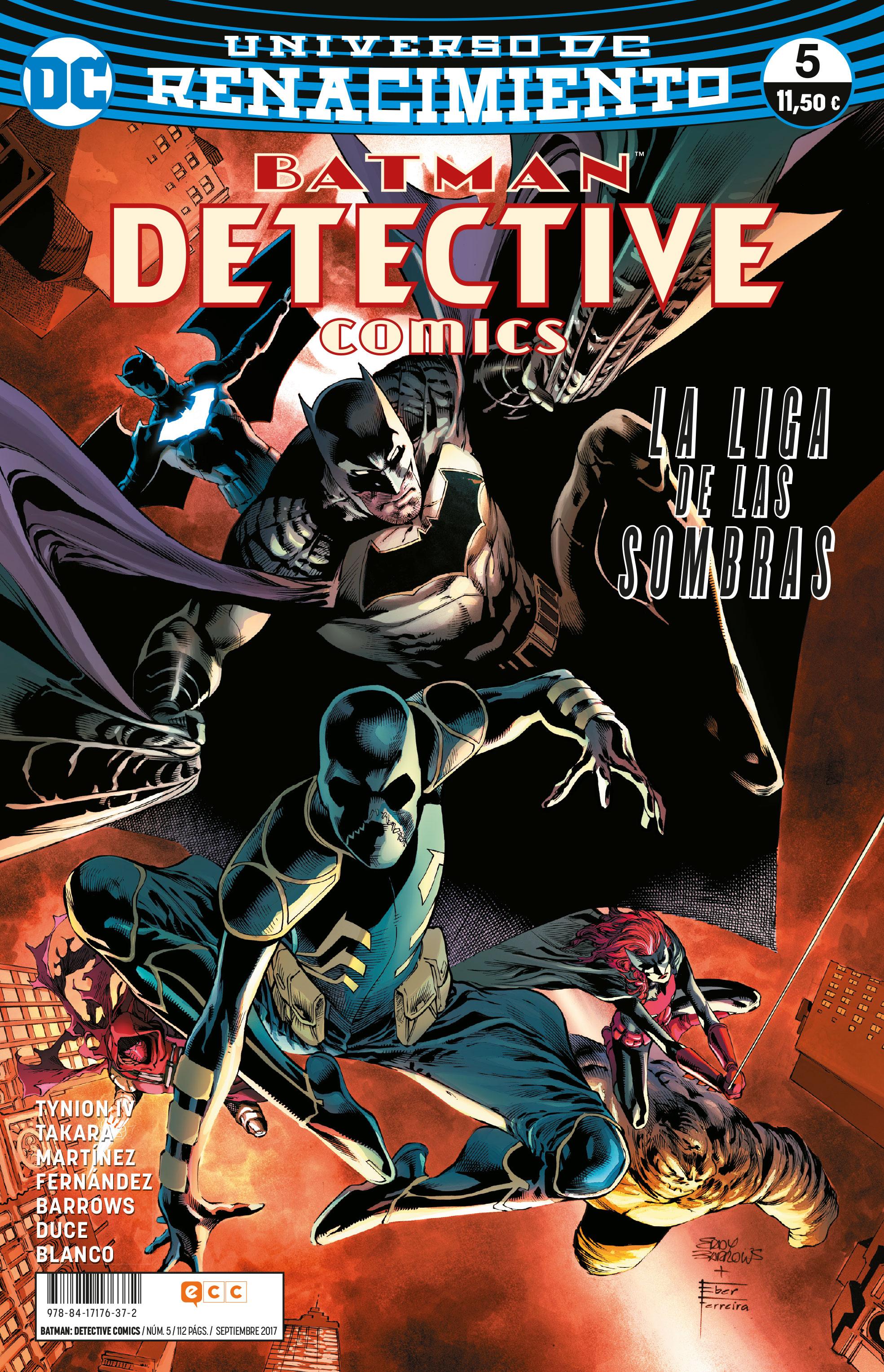 BATMAN: DETECTIVE COMICS NÚM. 05 (RENACIMIENT...