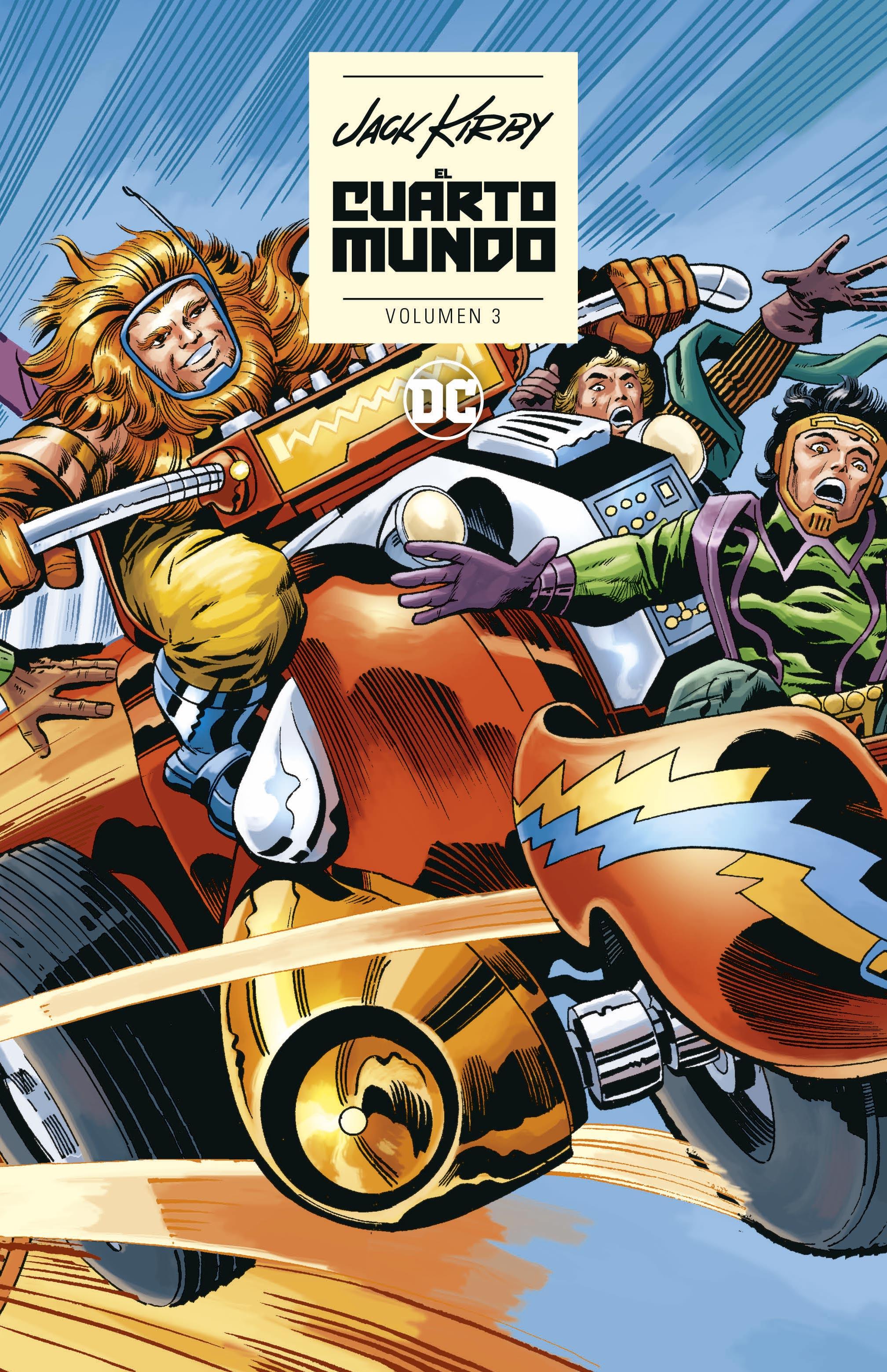El Cuarto Mundo de Jack Kirby vol. 03 - ECC Cómics
