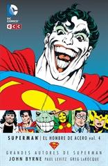 Grandes Autores de Superman: John Byrne - Superman: El hombre de acero vol. 04