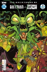 Las aventuras de Batman y las Tortugas Ninja núm. 03 (de 6)