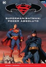 Batman y Superman - Colección Novelas Gráficas núm. 21: Superman/Batman: Poder absoluto