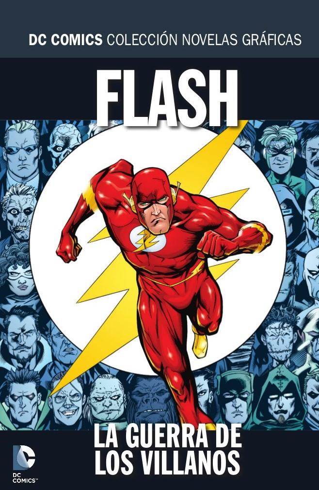 Colección Novelas Gráficas Núm 43 Flash La Guerra De Los Villanos