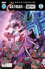 Las aventuras de Batman y las Tortugas Ninja núm. 05 de 6