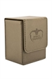 Flip Deck Case Leatherette 80+ Beige