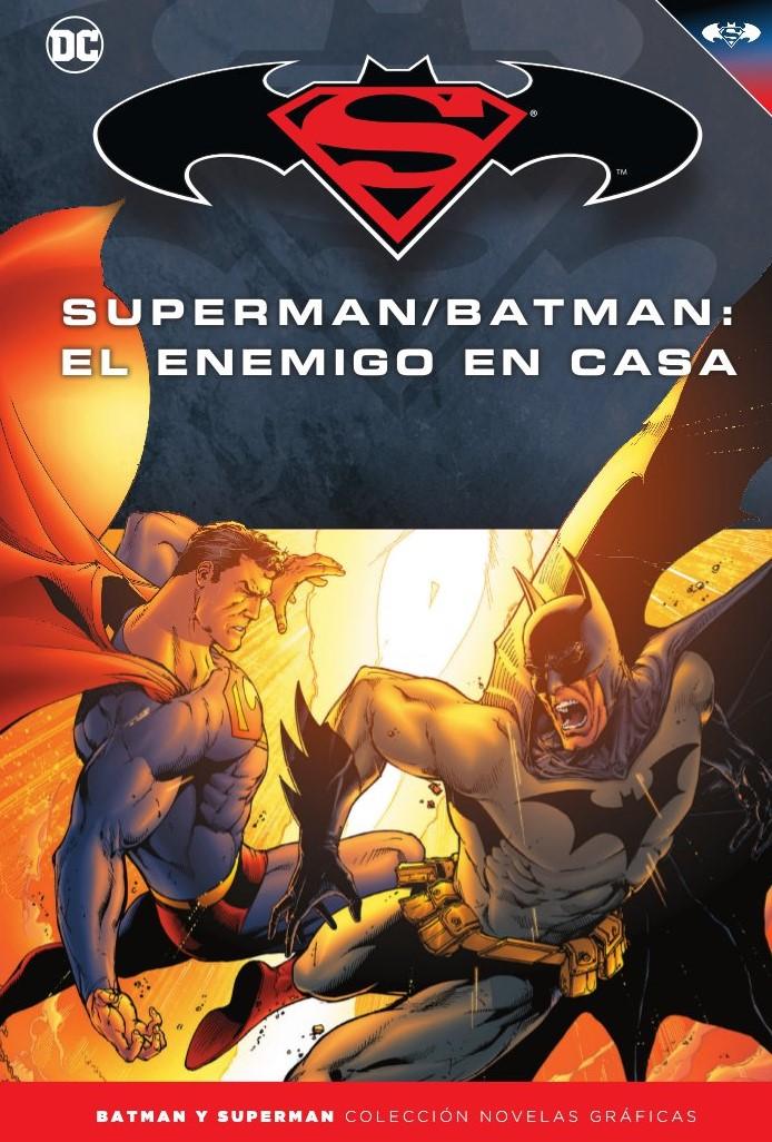 [DC - Salvat] Batman y Superman: Colección Novelas Gráficas - Página 9 Portada_BMSM_25_El_enemigo_en_casa