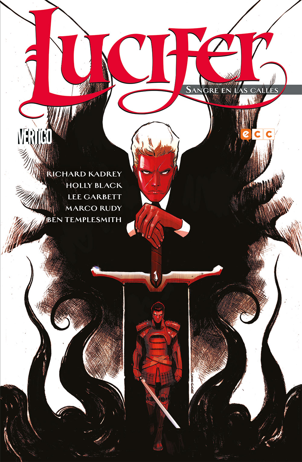Lucifer: Sangre en las calles - ECC Cómics