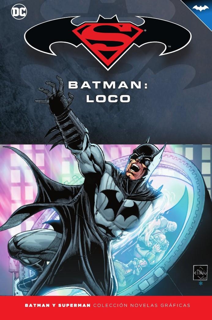 [DC - Salvat] Batman y Superman: Colección Novelas Gráficas - Página 9 Portada_BMSM_26_Loco