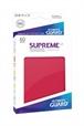 Fundas Supreme Japonés UX Color Rojo (60 unidades)