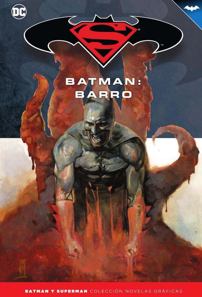 [DC - Salvat] Batman y Superman: Colección Novelas Gráficas - Página 9 Portada_BMSM_28_Barro