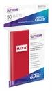 Fundas Supreme UX (50 Uds) Mate Color Rojo