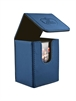Flip Deck Case Leatherette 80+ Azul Marino