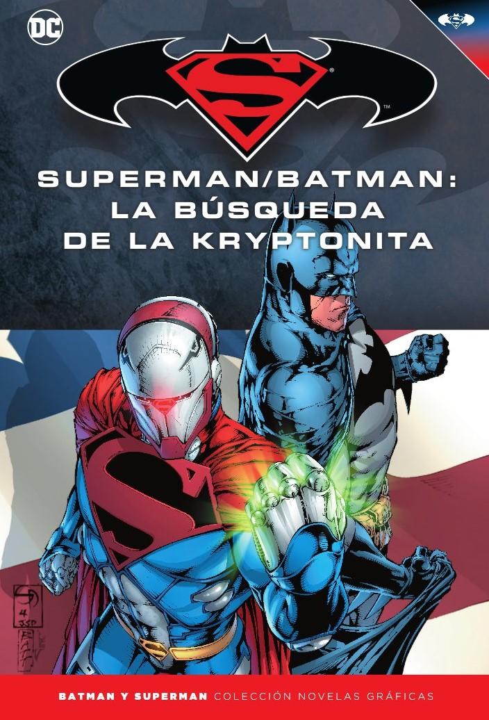 [DC - Salvat] Batman y Superman: Colección Novelas Gráficas - Página 9 Portada_BMSM_29_La_b%C3%BAsqueda_de_la_Kryptonita