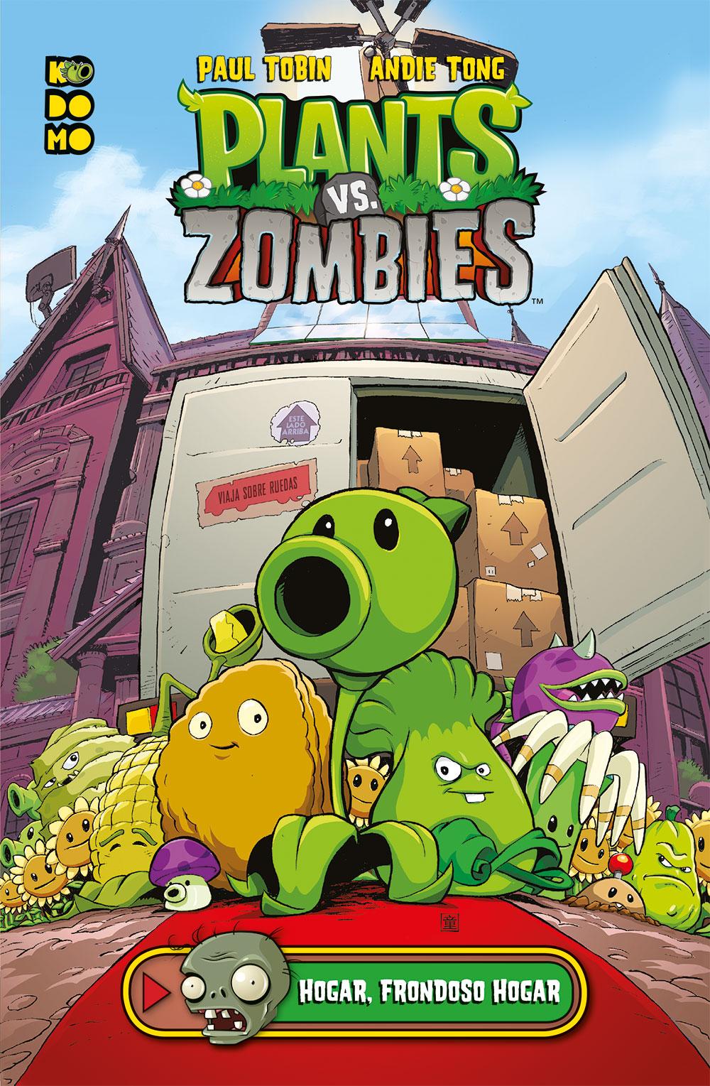 Plants vs zombies hogar frondoso hogar ecc c mics for Fotos de la casa de plantas vs zombies