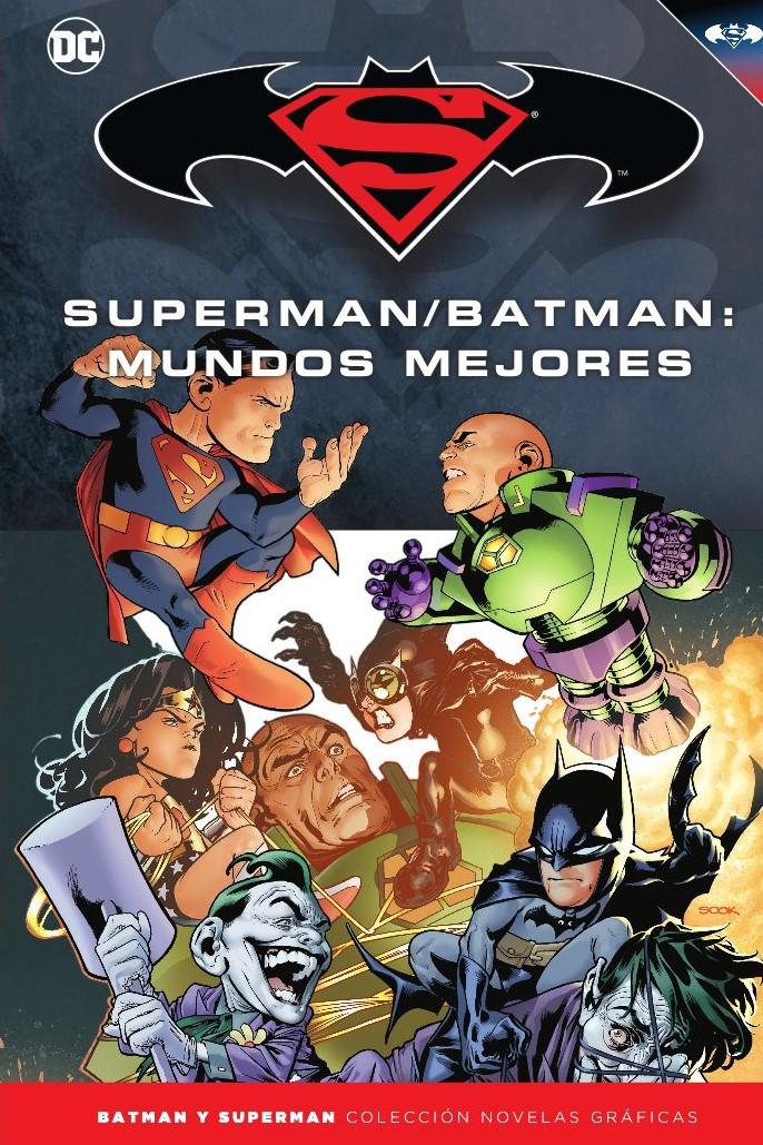 [DC - Salvat] Batman y Superman: Colección Novelas Gráficas - Página 9 Portada_BMSM_31_Mundos_mejores