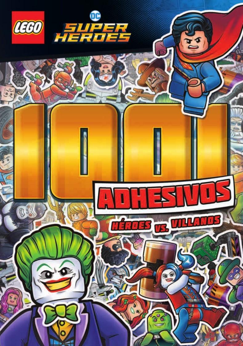LEGO DC COMICS SUPER HEROES: 1001 adhesivos - Héroes vs. villanos ...
