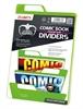 Separadores para cómics Premium Verde (25 unidades)