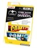 Separadores para cómics Premium Amarillo (25 unidades)