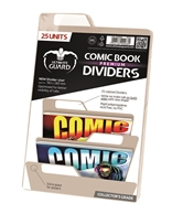 Separadores para cómics Premium Beige (25 unidades)