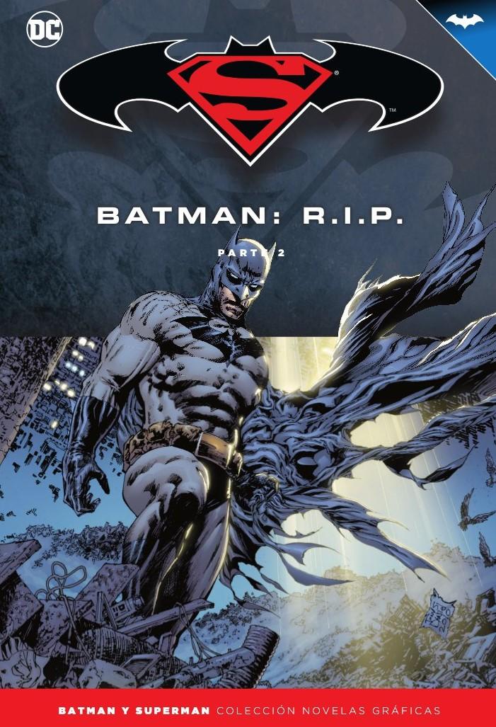 347 - [DC - Salvat] Batman y Superman: Colección Novelas Gráficas - Página 10 Portada_BMSM_37_RIP_2