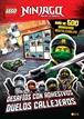 LEGO NINJAGO. Desafíos con adhesivos. Duelos callejeros