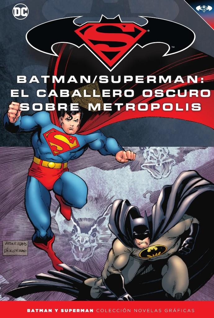[DC - Salvat] Batman y Superman: Colección Novelas Gráficas - Página 11 Portada_BMSM_38_Caballero_Oscuro_sobre_Metropolis