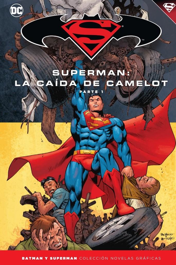 347 - [DC - Salvat] Batman y Superman: Colección Novelas Gráficas - Página 10 Portada_BMSM_39_La_cai%CC%81da_de_Camelot_1