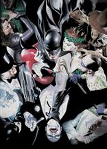Displate - DC / Alex Ross 01 - Batman y enemigos