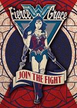 Displate - DC / Wonder Woman 05 - Fierce Grace