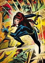 Displate - MARVEL / Silver Age 08 -Black Widow