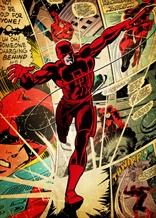 Displate - MARVEL / Silver Age 09 -Daredevil