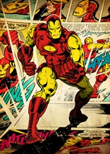 Displate - MARVEL / Silver Age 07 - Iron Man