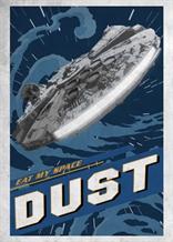 Displate - STAR WARS / Galactic Propaganda 05 - Eat My Space Dust