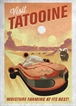 Displate - Star Wars / Visit Tatooine