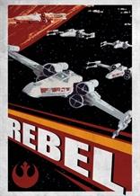 Displate - STAR WARS / Galactic Propaganda 09 - Rebel