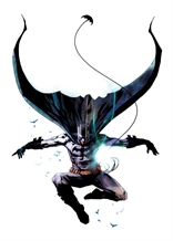 Displate - DC / Jock 04 - Batman Leap