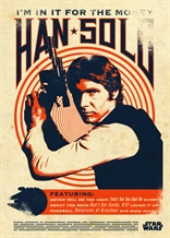 Displate - STAR WARS / Legends 05 - Han Solo