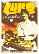 Displate - STAR WARS / Legends 01 - Luke Skywalker