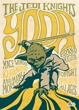 Displate - STAR WARS / Legends 08 - Yoda