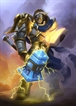 Displate - HEARTHSTONE / 06 - Uther The Lightbringer