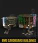 BATMAN MINIATURE GAME CARDBOARD BUILDINGS