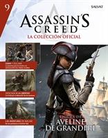 Assassin's Creed: La colección oficial - Fascículo 09: Aveline de Grandpré (Fascículo + Figura)