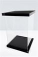 Supreme Display acrílico para figuras 1/6 Black Magnetic Edition