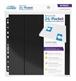 Hojas para archivador (10 unidades) 24-Pocket QuadRow Side-Loading - Negro