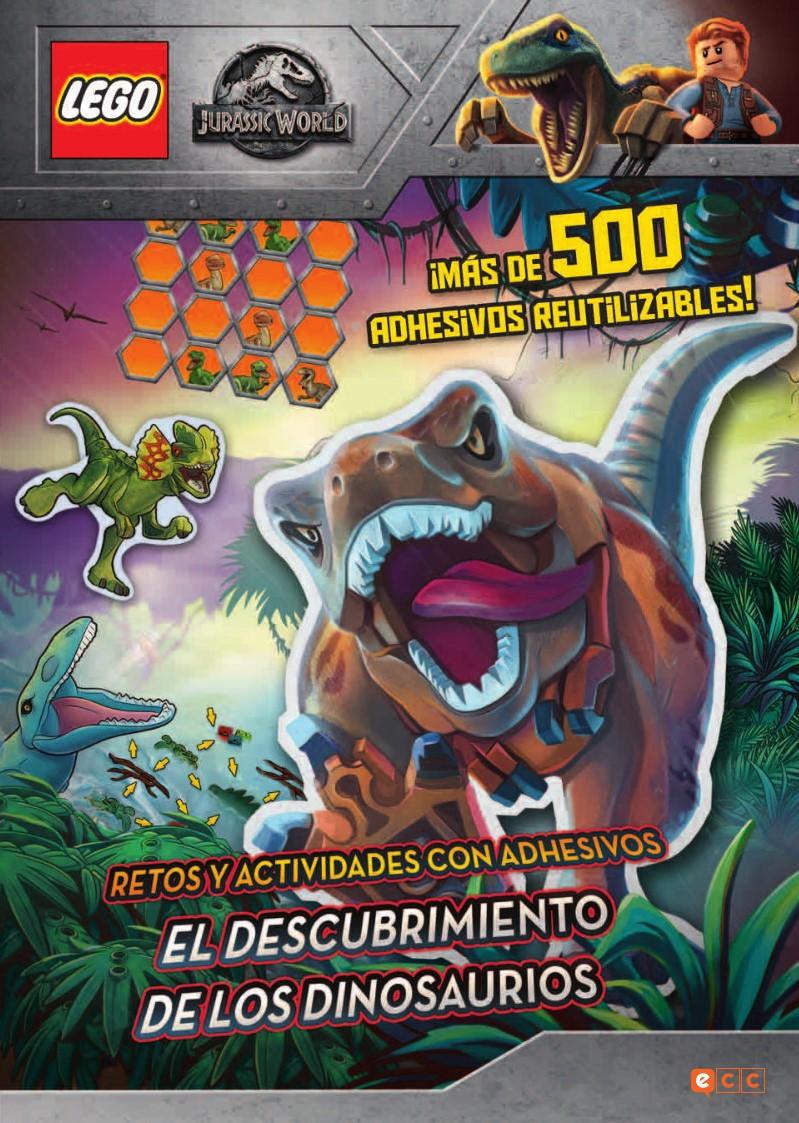 Lego Jurassic World El Descubrimiento De Los Dinosaurios Ecc Comics Con lego puedes construir tus juguetes de dinosaurios preferidos bloque a bloque, siguiendo los pasos recomendados en cada caja o experimentando con tus propias creaciones. lego jurassic world el descubrimiento